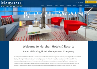 Marshall Hotels Resorts A Leading Hotel Management And Services Company That Operates Properties Nationwide Today Announced It Has Signed 14