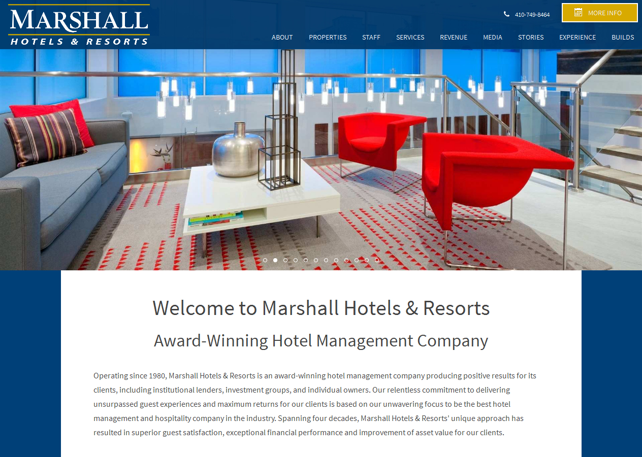 Citybizlist Baltimore Marshall Hotels Resorts On Pace For Record Year With 14 Management Contracts In 2016 First Half