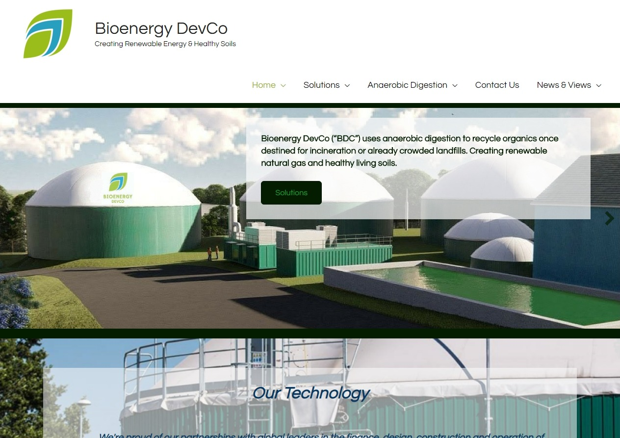 citybizlist : Baltimore : Bioenergy DevCo Announces $106